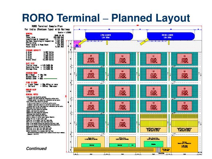 RORO Terminal