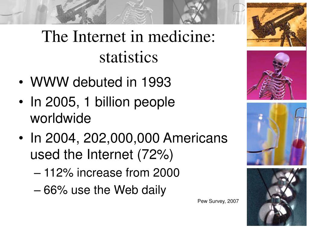 The Internet in medicine: statistics