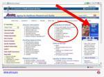 the ahrq web site