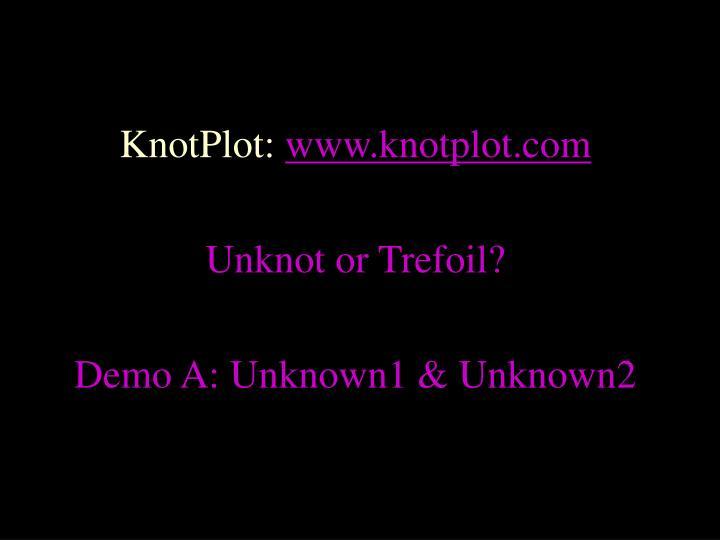 KnotPlot: