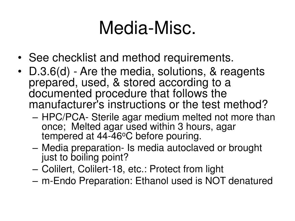 Media-Misc.