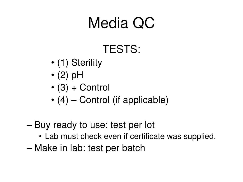 Media QC