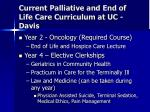 current palliative and end of life care curriculum at uc davis5