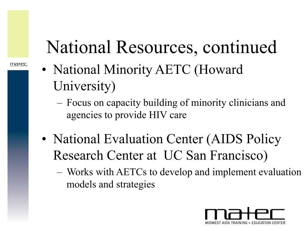 National Resources, continued