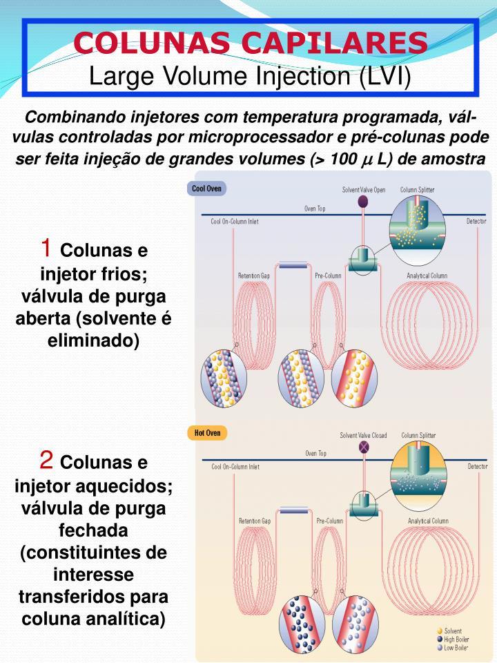 COLUNAS CAPILARES