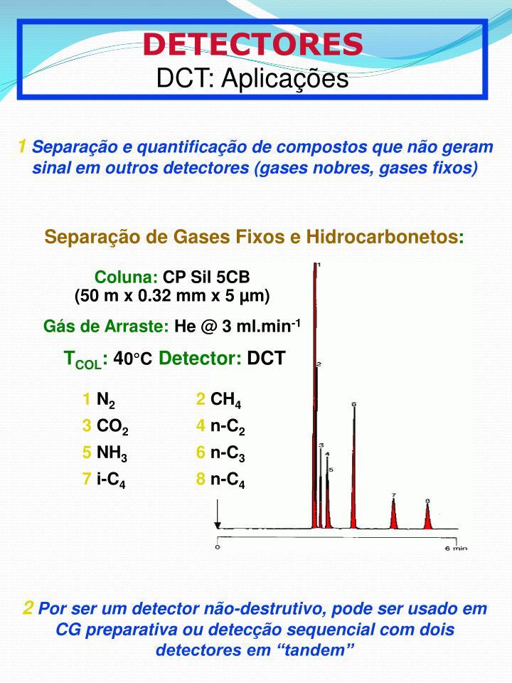 Separao de Gases Fixos e Hidrocarbonetos