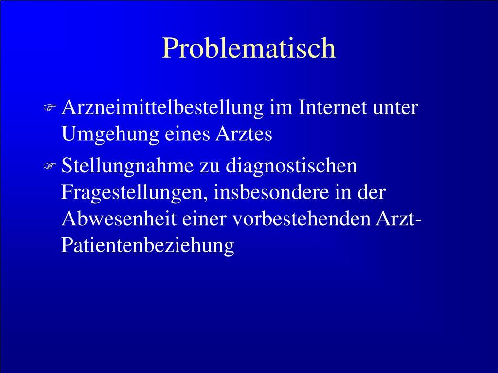 Problematisch