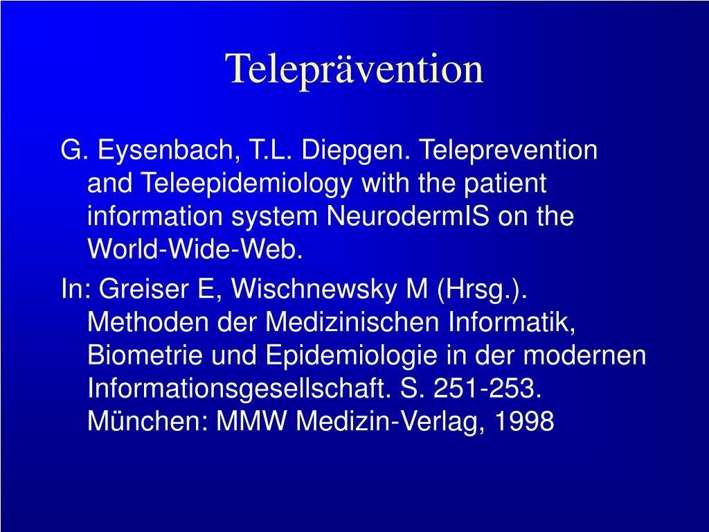 Teleprävention