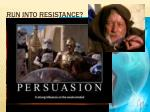 run into resistance