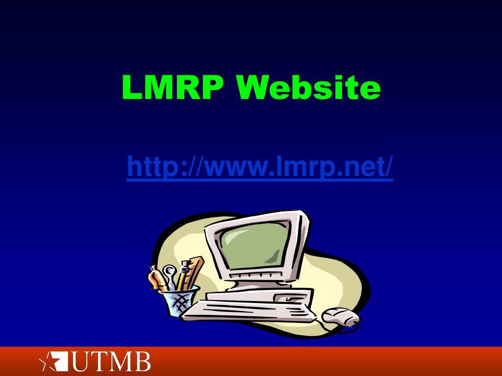LMRP Website