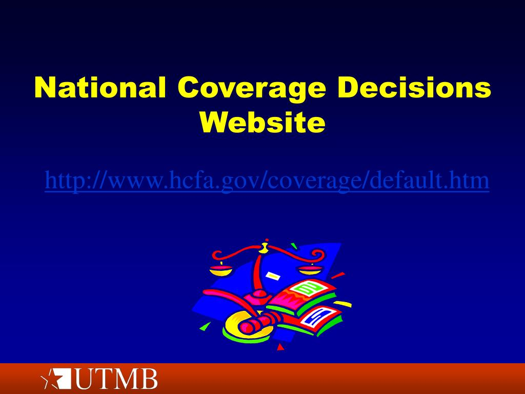 National Coverage Decisions