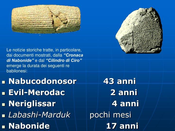 Nabucodonosor          43 anni