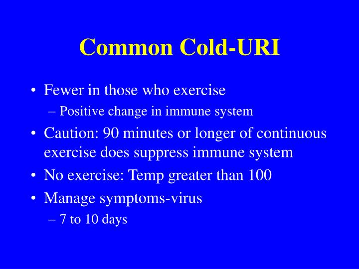 Common Cold-URI