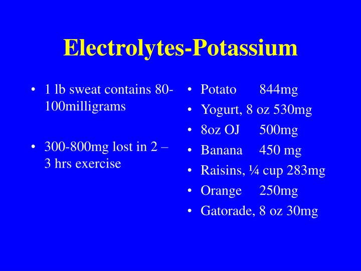 1 lb sweat contains 80-100milligrams