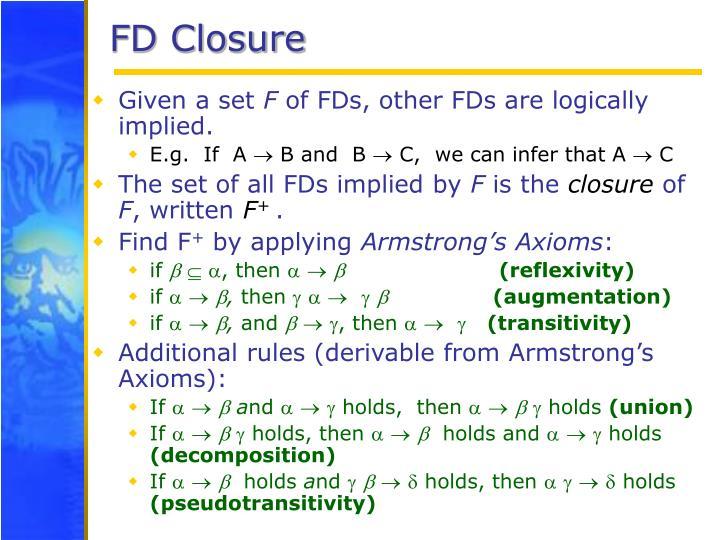 FD Closure