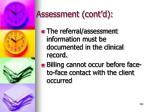 assessment cont d