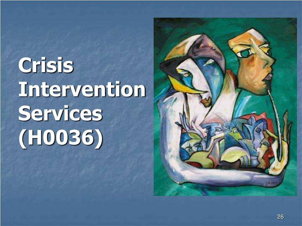 Crisis Intervention Services (H0036)