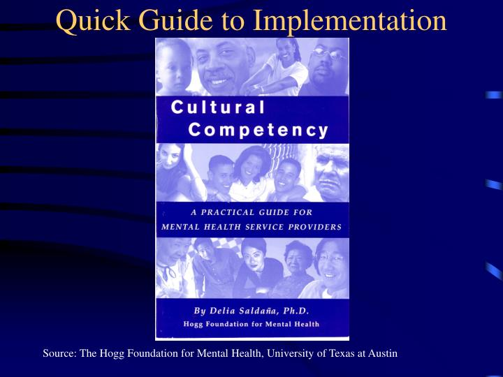Quick Guide to Implementation