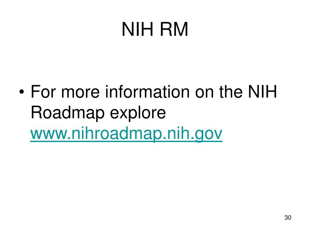 NIH RM