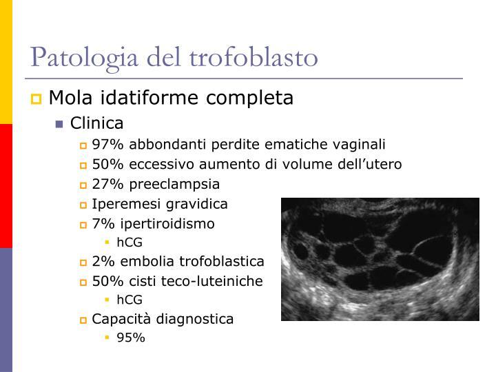 Patologia del trofoblasto