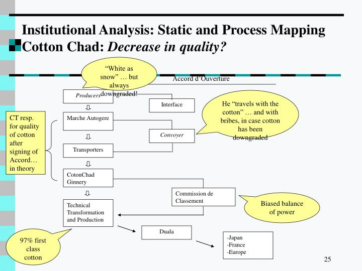 Institutional Analysis: Static and Process Mapping