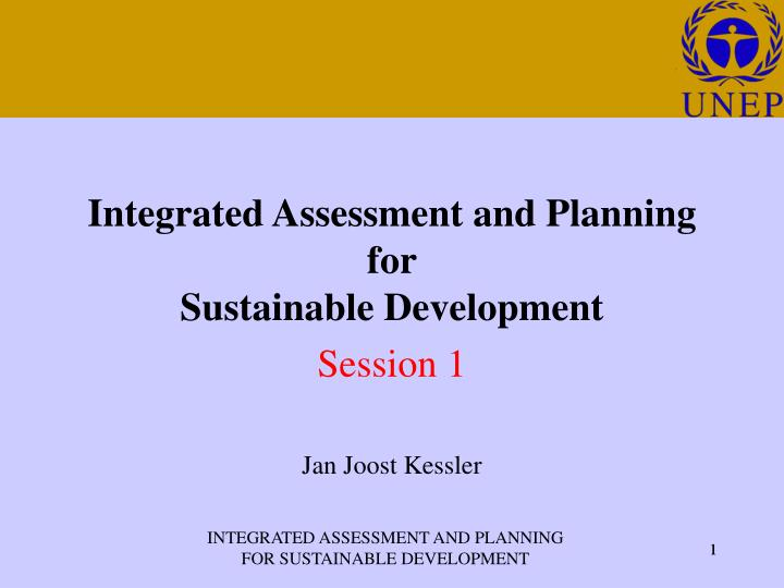 assessment for planning and sustainability From procurement through production to final sale and delivery, students taking  ies's new sustainability assessment & planning: four-course sequence for.