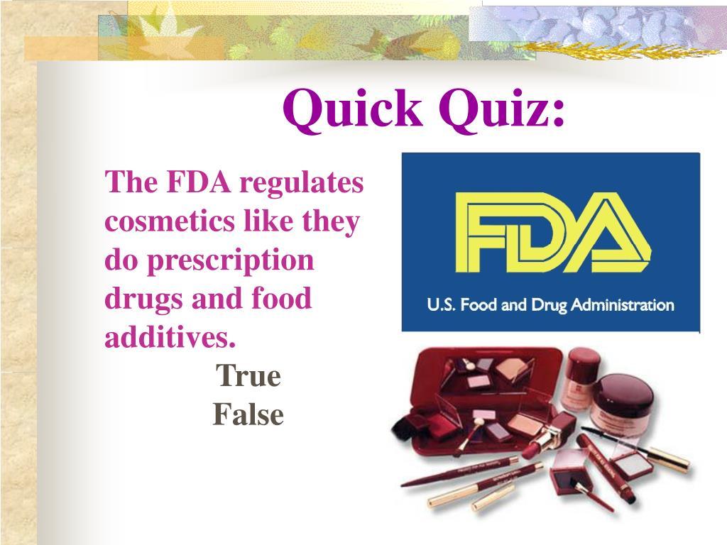Quick Quiz: