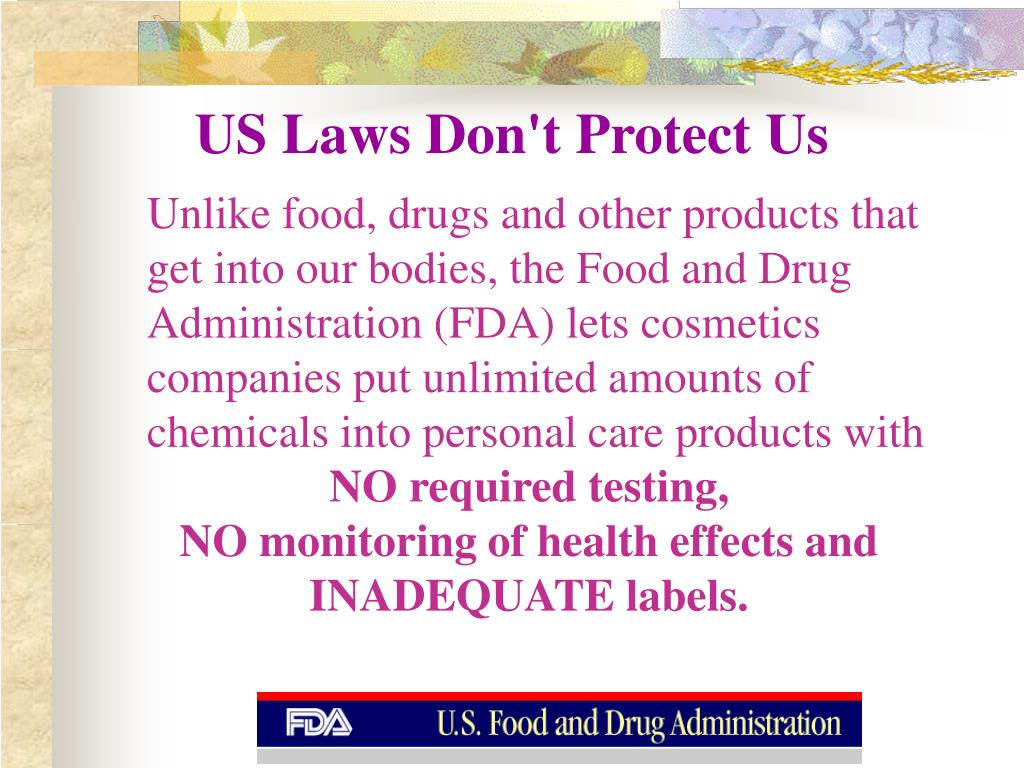 US Laws Don't Protect Us