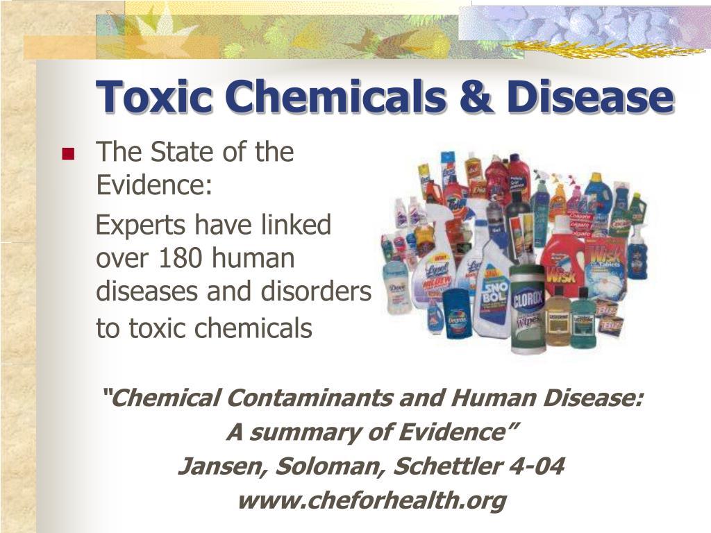 Toxic Chemicals & Disease