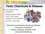 toxic chemicals disease