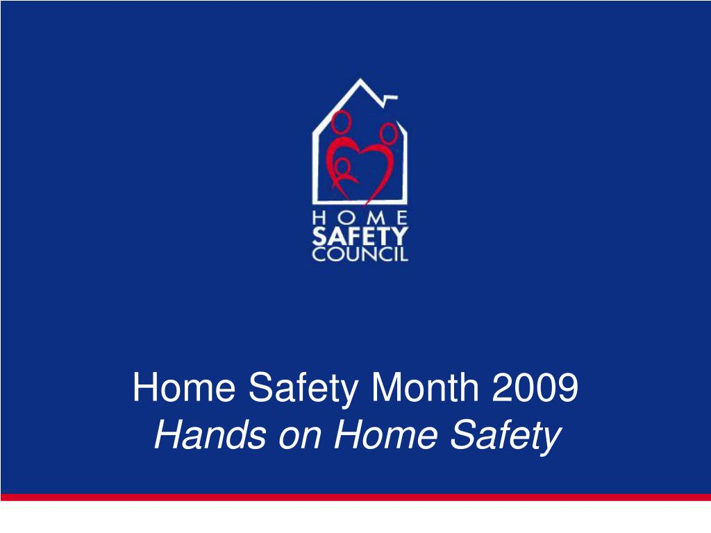 Home Safety Month 2009