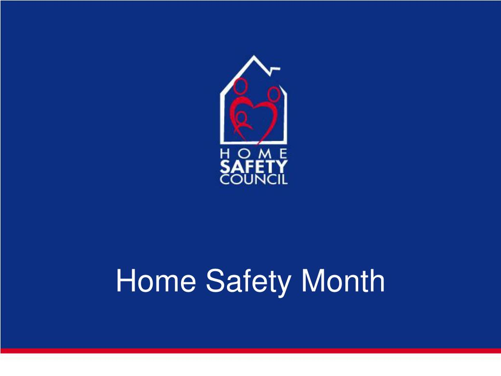 Home Safety Month