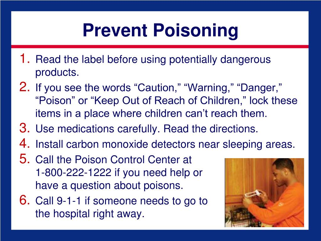 Prevent Poisoning