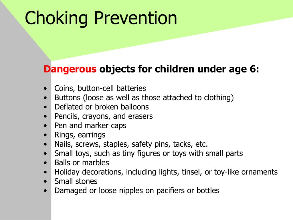 Choking Prevention