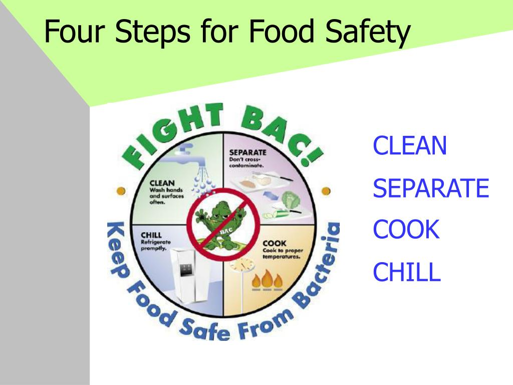 Four Steps for Food Safety