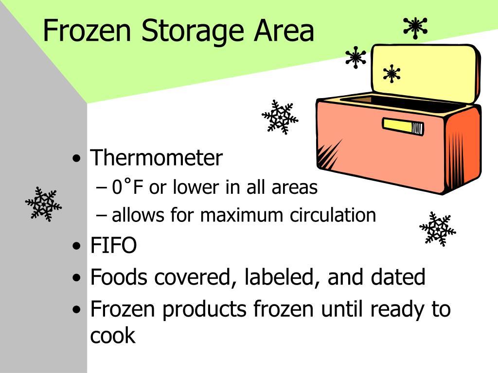 Frozen Storage Area