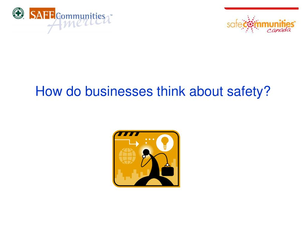 How do businesses think about safety?
