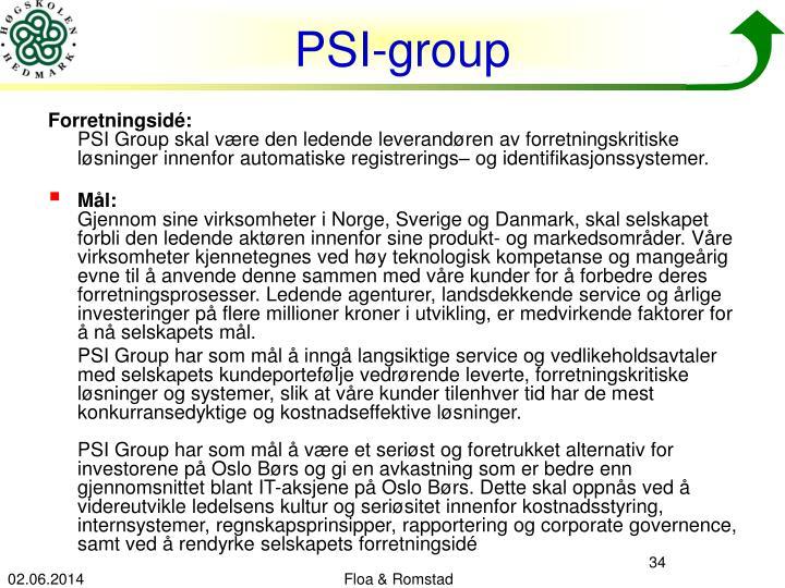 PSI-group