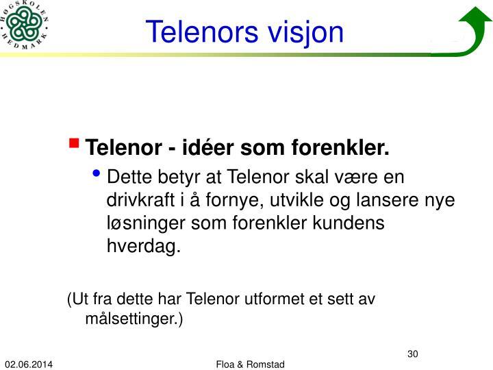Telenor - idéer som forenkler.