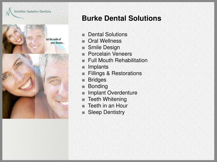 Burke Dental Solutions