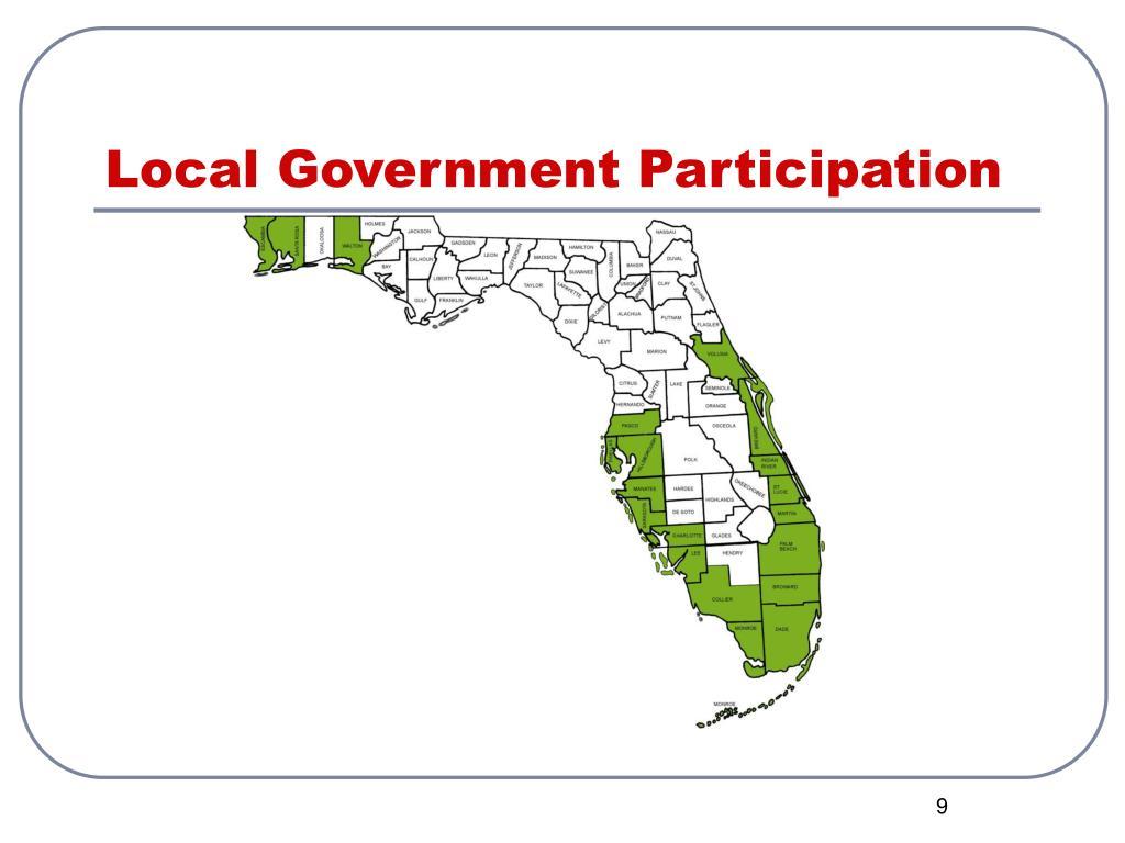 Local Government Participation