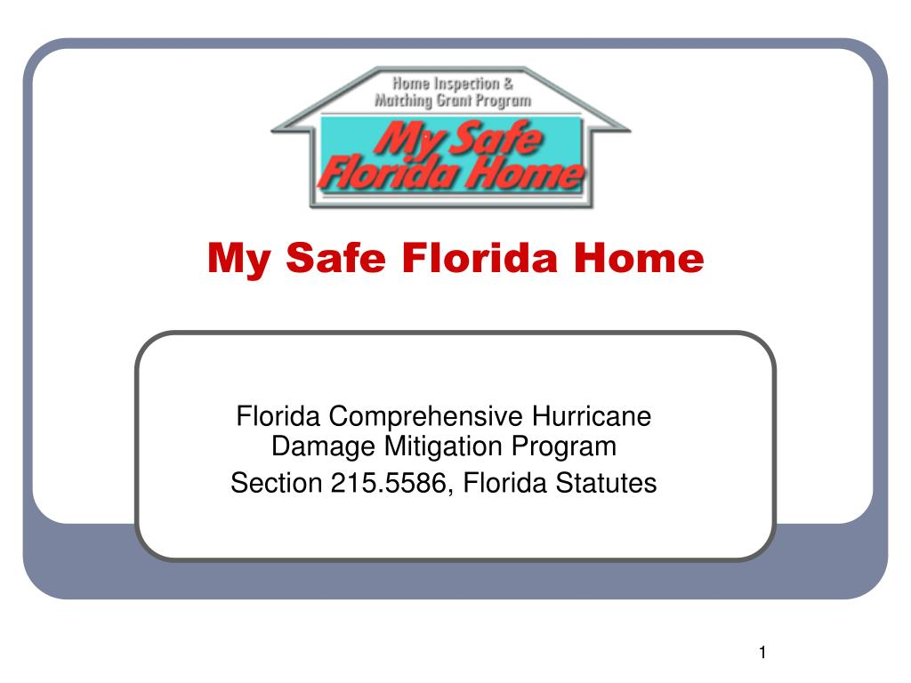 My Safe Florida Home