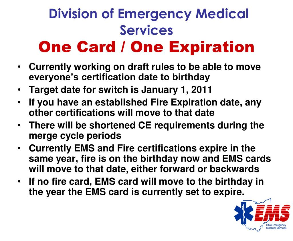 Division of Emergency Medical Services