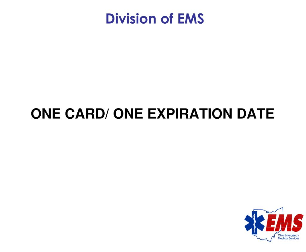 Division of EMS