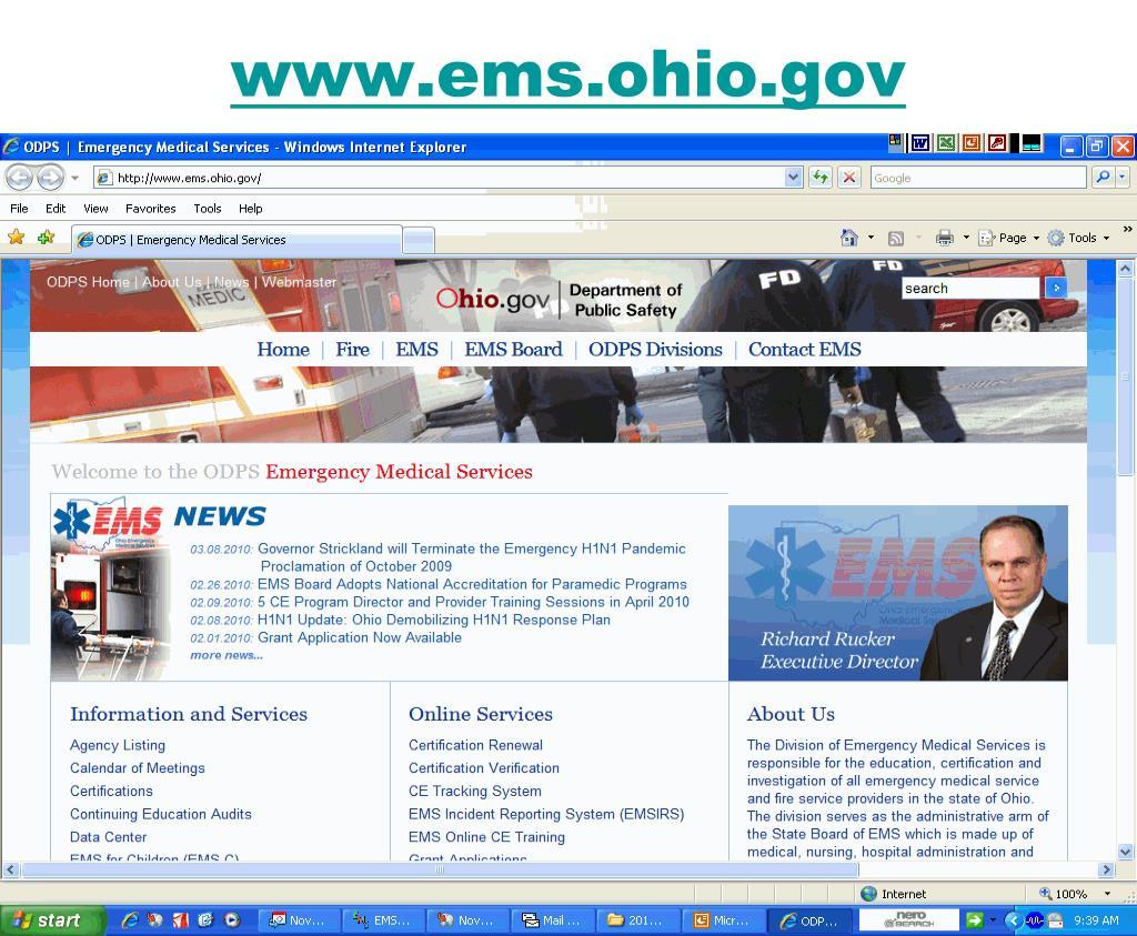 www.ems.ohio.gov