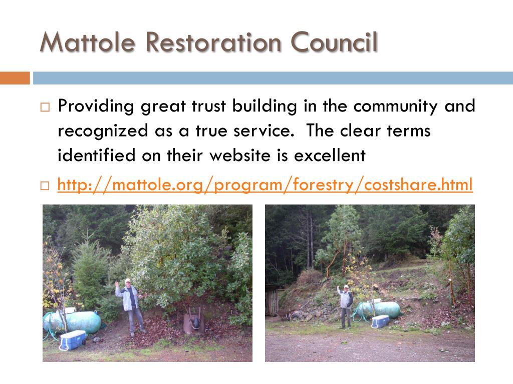 Mattole Restoration Council