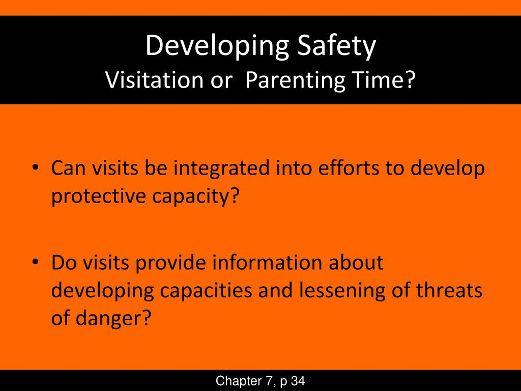 Developing Safety