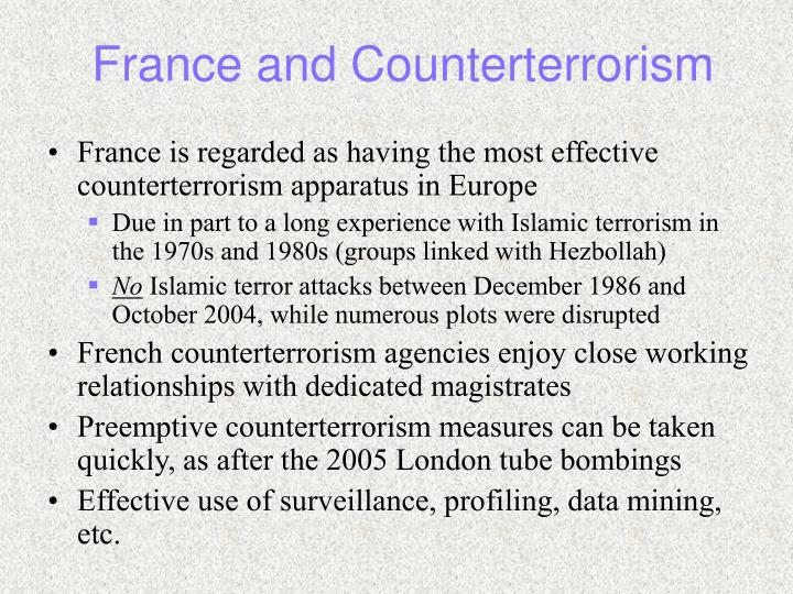France and Counterterrorism