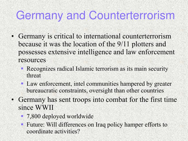 Germany and Counterterrorism