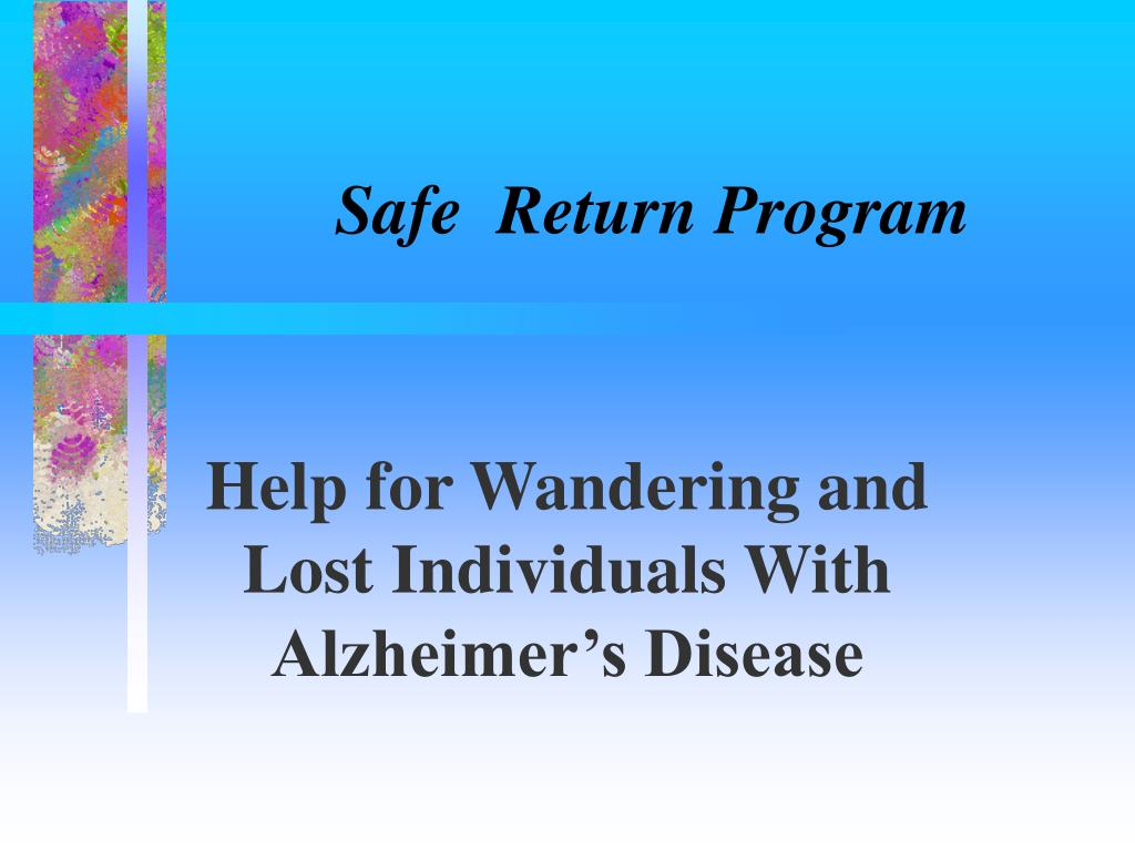 Safe  Return Program